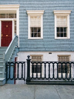 A local house on Brooklyn Heights